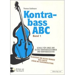 Großmann, Thomas: Kontrabaß-ABC Band 1 (+CD)