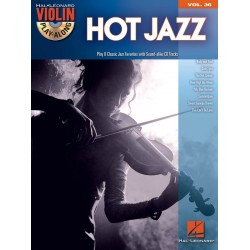 Hot Jazz (+CD) : for violin violin playalong vol.36