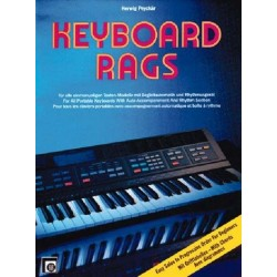 Peychär, Herwig: Keyboard Rags : Easy Solos in progressive Order for Beginners