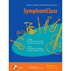 Wang, Ming: SymphoniClass (+CD-ROM) : für flexibles Ensemble/Schulorchester/Klassenmusizieren Partitur (+Stimmen zum Ausdrucken)