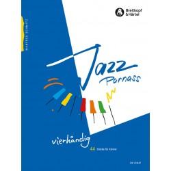 Schmitz, Manfred: Jazz Parnass Band 3 : für Klavier zu 4 Händen