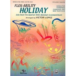 Flex-Ability Holiday for 4 flexible instruments oboe score