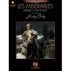 Schoenberg, Claude-Michel: Les Misérables (Medley) (+audio access) : for violin