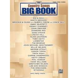 The Big Book of Country Songs : for piano/vocal/guitar