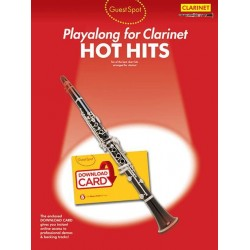 Hot Hits (+Download) : for clarinet