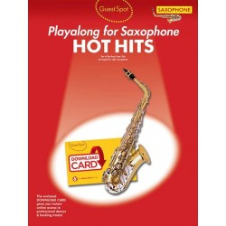 Hot Hits (+Download) : for alto saxophone