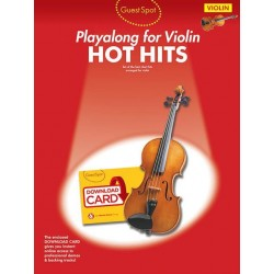 Hot Hits (+Download) : for violin