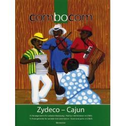 Zydeco-Cajun für variables Ensemble Partitur und Stimmen