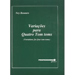 Rosauro, Ney Gabriel: Variacoes : para 4 Tom Toms