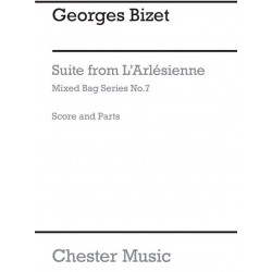 Bizet, Georges: Suite from L'Arlesienne-Suite for woodwinds score and parts
