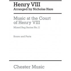 Henry VIII, K├Ânig von England: Music at the Court of Henry VIII : for woodwinds score and parts