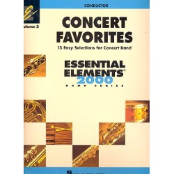 Concert Favorites vol.2 : for concert band conductor score