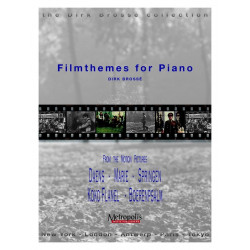 Brossé, Dirk: Filmthemes : for piano