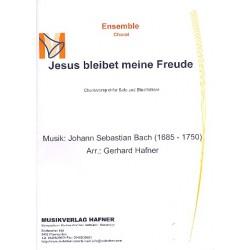 Bach, Johann Sebastian: Wohl mir das ich Jesus habe BWV147 : für Flügelhorn und Blechbläser Partitur und Stimmen