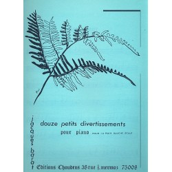 Barat, Jacques Edouard: 12 petites divertissements : pour piano (main gauche seule)