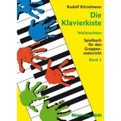 Kitzelmann, Rudolf: Die Klavierkiste : Weihnachten Spielbuch für den Gruppenunter- richt Band 2 (3 Klaviere)