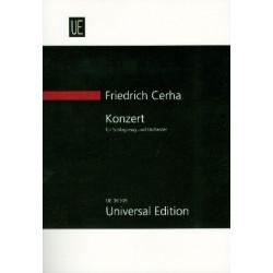 Cerha, Friedrich: Konzert : f├╝r Schlagzeug und Orchester Studienpartitur