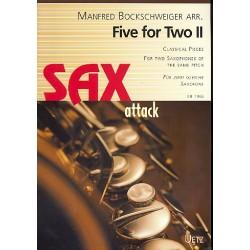 Five for Two Band 2 : für 2 gleiche Saxophone