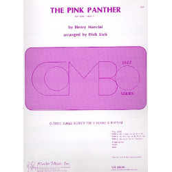 Mancini, Henry: Pink Panther : f├╝r 3 horns and rhythm group Partitur und Stimmen