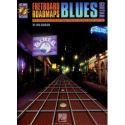 Sokolow, Fred: Fretboard Roadmaps (+CD): for Blues guitar