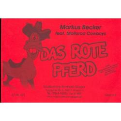 Monnot, Marguerite: Das rote Pferd : für Blasmusik Partitur und Stimmen