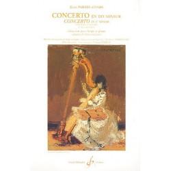 Parish-Alvars, Elias: Concerto en do mineur pour harpe et orchestre : pour harpe et piano