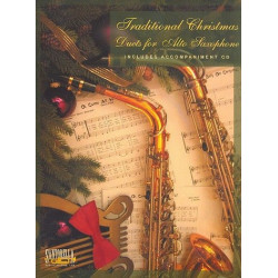Traditional Christmas Duets (+CD) : for 1-2 saxophones (with printable piano accompaniment)