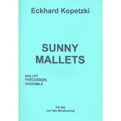 Kopetzki, Eckhard: Sunny Mallets : f├╝r Mallet-Percussion-Ensemble Partitur und Stimmen