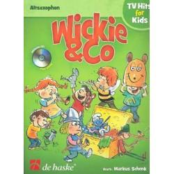 Wickie und Co (+CD) : f├╝r Altsaxophon