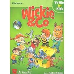 Wickie und Co (+CD) : für Klarinette
