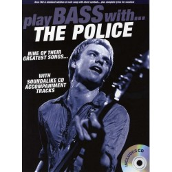 Play Bass with The police (+CD) : for bass/tab