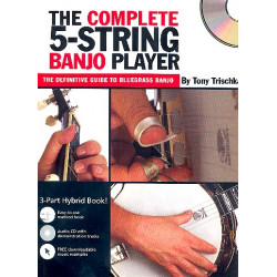 Trischka, Tony: The complete 5-string Banjo Player (+CD)