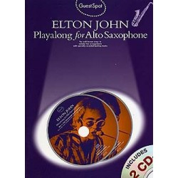 Guest Spot : Elton John playalong for alto saxophone