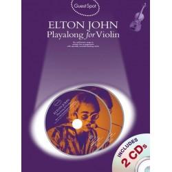 Guest Spot : Elton John playalong for violin