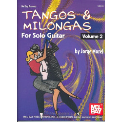 Tangos & Milongas vol.2 : for 1-2 guitars/tab