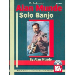 Munde, Alan: Solo Banjo (+CD) : for banjo in tab