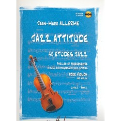 Allerme, Jean-Marc: Jazz Attitude vol.1 (+CD) : for violin