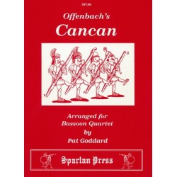 Can Can : for 4 bassons score and parts