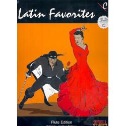 Latin Favorites (+CD) : for flute