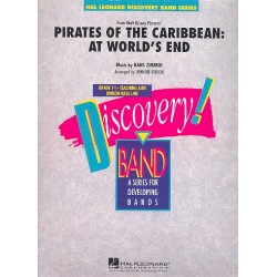 Zimmer, Hans: Pirates of the Caribbean vol.3 (At World's End) : for band score and parts