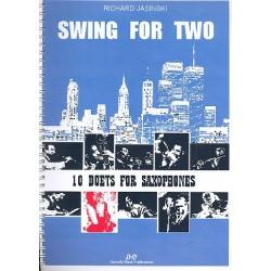 Jasinski, Richard: Swing for two : für 2 Saxophone Spielpartitur