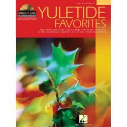 Yuletide Favorites (+CD) : songbook piano/vocal/guitar pian play-along vol.13