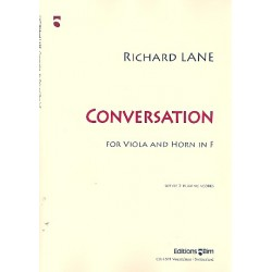 Lane, Richard: Conversation : for viola and horn in F 2 scores