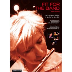 Augustin, Maria: Fit for the Band (+CD) : f├╝r Fl├Âte Schule f├╝r Jazzfl├Âte