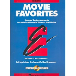 Movie Favorites : for concert band conductor (score)