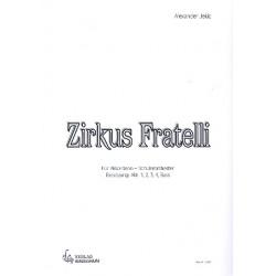 Jekic, Alexander: Zirkus Fratelli : für Akkordeonorchester Partitur