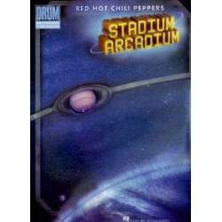 Red Hot Chili Peppers : Stadium Arcadium songbook Drum Recorded Versions vocal/guitar/drums
