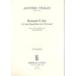 Vivaldi, Antonio: Konzert C-Dur : für Mandoline und Zupforchester Mandoline solo