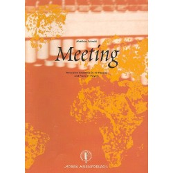 Schmitt, Matthias: Meeting : for percussion ensemble (6-10 players) and piano score