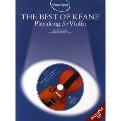 The Best of Keane (+CD) : for violin Guest Spot Playalong